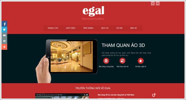 Phòng trưng bày ảo 3D EGAL